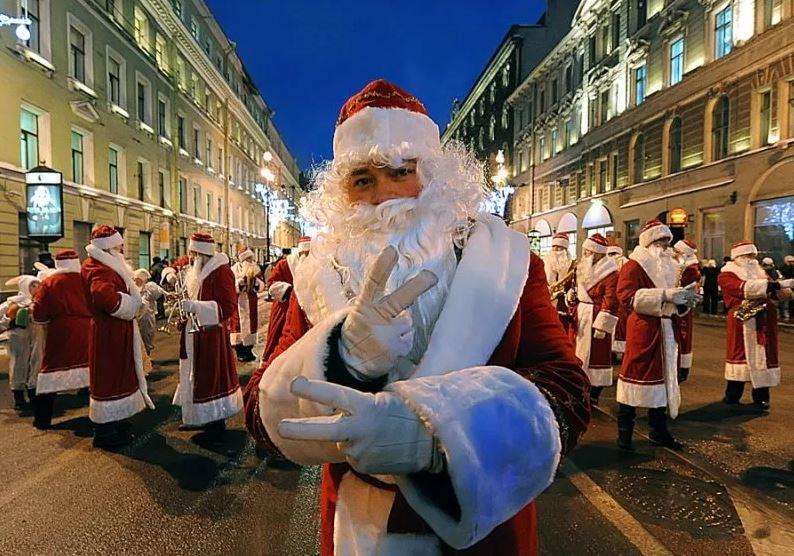 Дед Мороз в Питере