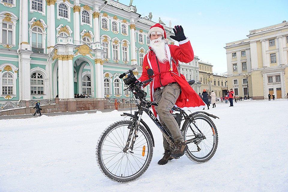 дед мороз на дворцовой