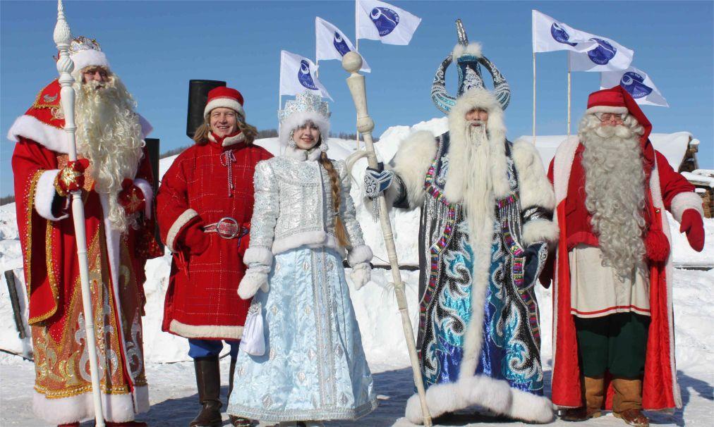 Дед мороз из разных стран